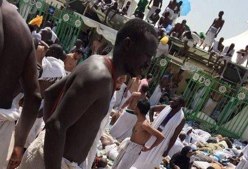 Estampida en peregrinación a la Meca