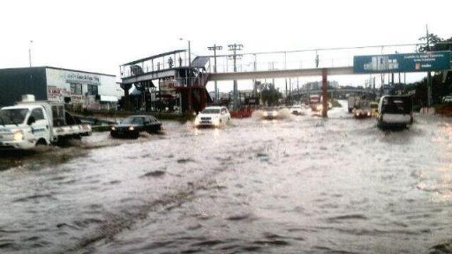 Inundaciones en Panamá