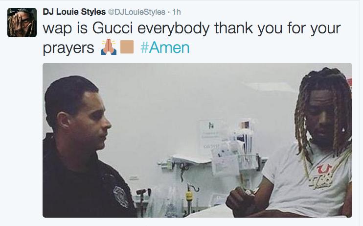 Tuit de DJ Louie Styles