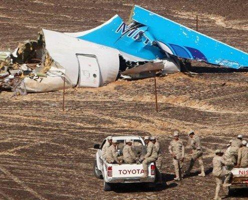 Accidente aereo en Sinai