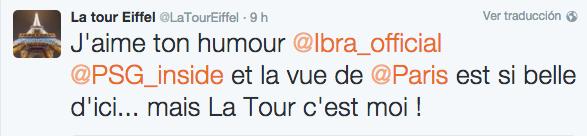 via Twitter (@LaTourEiffel)