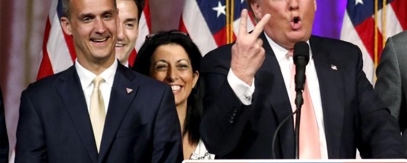 Trump and Lewandowski