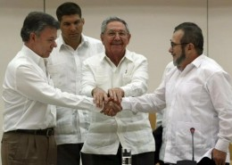 Santos y FARC