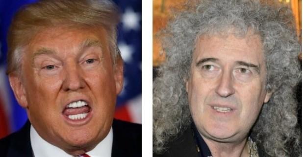 Queen y Trump