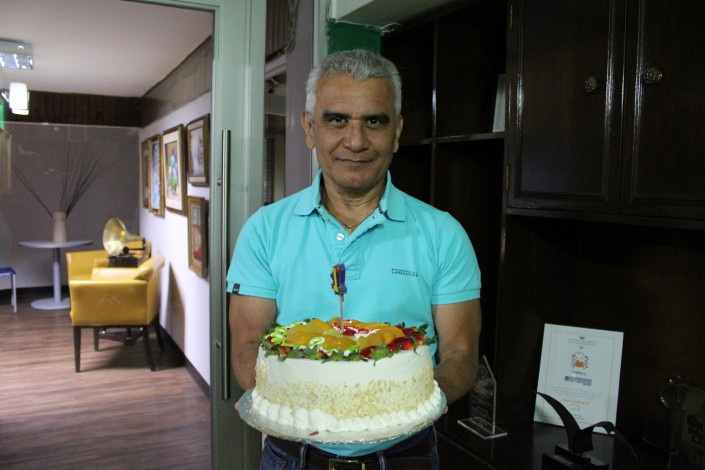 Cumpleaños de Víctor