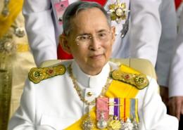Thailand's king Bhumibol Adulyadej smiles on his birthday